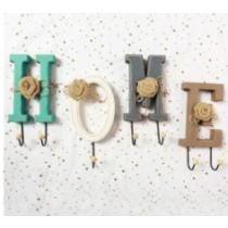 "$10 off ""H-O-M-E"" Decorative Hooks + Free Shipping"