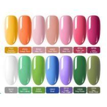 10% off Spring Color Gel Nails