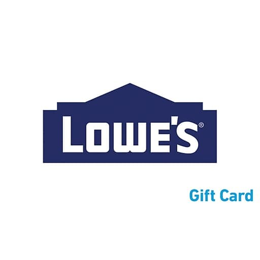 $100 Lowe's Gift Card (Email Delivery) $90