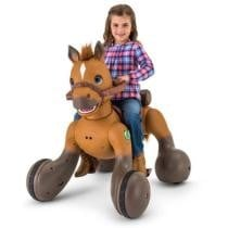 $100 off 12-Volt Rideamals Scout Pony Interactive Ride-On Toy + Free Shipping