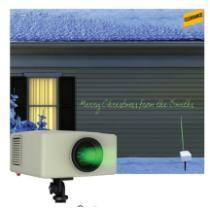 $100 off Mr. Christmas LED Holiday Laser Music Lightshow Green 30 ft. 1 lights