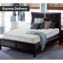 "$100 off Serta Alesbury 8"" Plush Memory Foam Mattress + Free Adjustable Base"