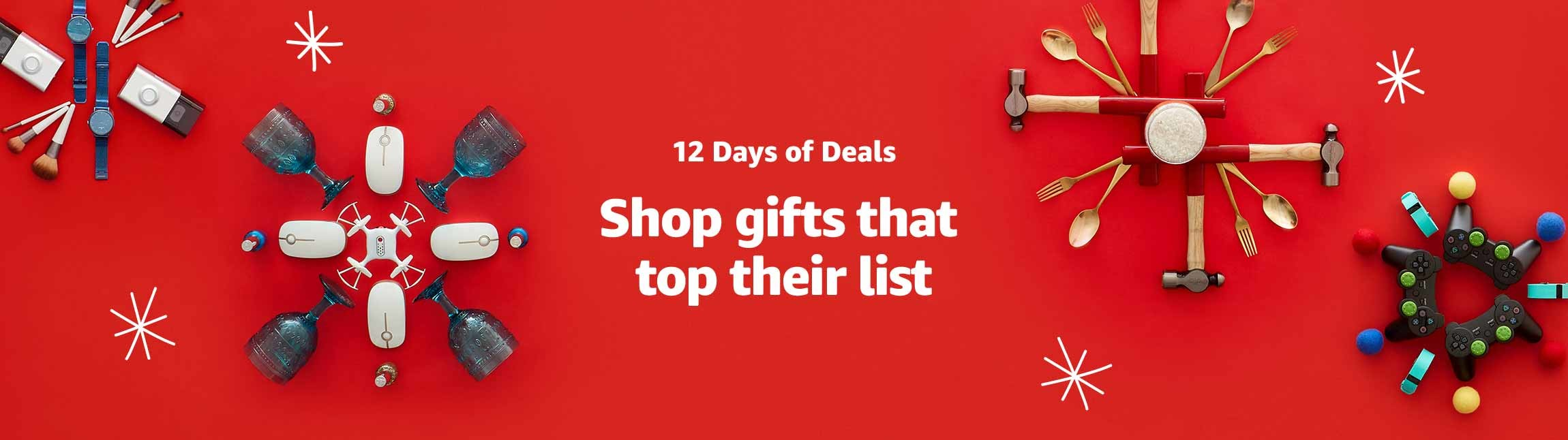 12 Days of Deals - Shop gifts that top their list | Christmas Gifts Idea