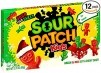 12-Pack 3.1oz. Sour Patch Kids Gummy Candy (Holiday Green/Red)