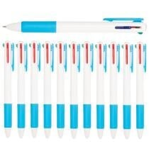 12-Pack Retractable 4-in-1 Colored Ballpoint Pens by Simply Genius Now $4 + $10 Shipping
