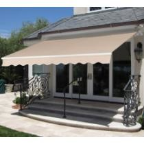"$130 Best Choice Products 98""x80"" Retractable Patio Awning + Free Shipping"