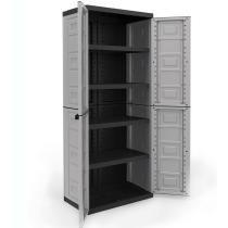 $130 Contico 4 Shelf Plastic Garage Storage Organizer + Free Shipping