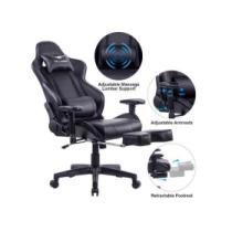 $130 off Killabee Big & Tall 350lb Massage Memory Foam Gaming Chair