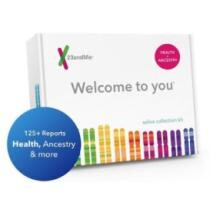 $145 23andMe DNA Test Health + Ancestry Kit + Free Shipping