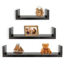$15 Greenco Set of 3 Floating Shelves + Free Shipping