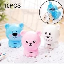 15% off 10-Pc. Deli Bear Manual Pencil Sharpeners Kids' Friendly at Home, Office & School