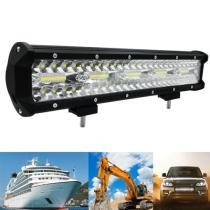 "15% off 15"" 300W 10000LM 6000K LED Strip Working Refit Off-Road Vehicle Lamp Roof Strip Light"