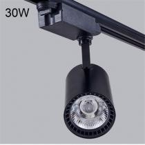 15% off 30W Black Shell Natural Light COB Rail Spotlights Lamp
