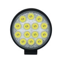15% off 42W White Light Round-Shaped Waterproof Car Spotlight LED Bulbs