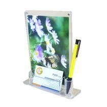 15% off Acrylic Magnetic Photo Frames Bussiness Card & Pen Holder Desktop Organizer
