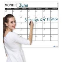 15% off Business Basics Wall Calendar Planner & Organizer, 3 X 4 Feet