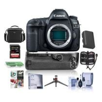 15% off Canon EOS 5D Mark IV DSLR Body w/ Canon BG-E20 Battery Grip & Free Accessory Bundle