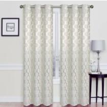 15% off Kraker Energy-Saving Lattice Geometric Room Darkening Thermal Grommet Curtain Panels