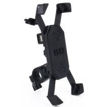 15% off Motorcycle Bike Handlebar 5V 2.4A USB Charger Adjustable Angle Holder for 3.5-6'' Phone