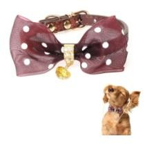 15% off Pet Collar w/ Bowtie for Medium Small Dog Cat