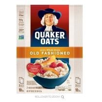 15% off Quaker Oats Old Fashioned Oatmeal + Free Shipping