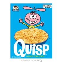15% off Quaker Quisp Cereal 12 Boxes + Free Shipping