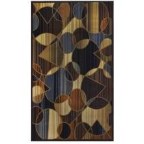 15% off Royalty Brown/Blue Area Rug