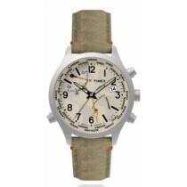 15% off Timex Men's Waterbury World Time Fabric Strap Watch + Free Shipping