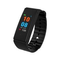 15% off TLW T2 Plus Fitness Tracker TFT Color Screen Bluetooth 4.0 Wristband Smart Bracelet - Black