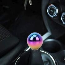 15% off Universal Vehicle Car Gradient Blue Screwed Shifter Cover Manual Automatic Aluminum Gear Shift Knob