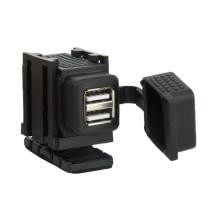 15% off Waterproof Motorcycle SAE to USB Cable Adapter 3.1A Dual Port Power Socket Adapter