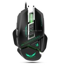 15% off ZERODATE X400 Wired Mechanical Macros Gaming Mouse w/ Cool LED Light (Black)