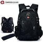 "15"" Waterproof Swiss Gear Multifunctional Men Backpack"