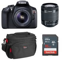 $150 off Canon EOS Rebel T6 w/ 18-55mm Lens & Accessories