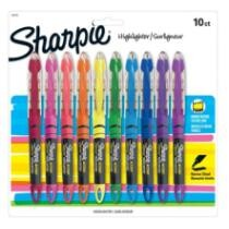 17% off 10-Ct Sharpie Liquid Accent Pen-Style Highlighters + Free Shipping