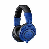 17% off Audio-Technica ATH-M50xBB Professional Studio Monitor Headphones - Blue + Free Shipping