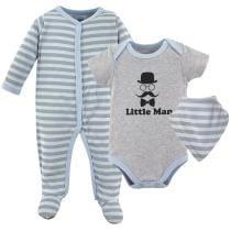 17% off Baby Sleep & Play Bodysuit 3-Piece Set
