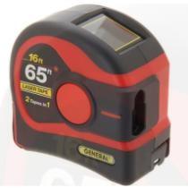 18% off General Tools 2-in-1 65-ft Laser Tape Measure w/ Digital Display