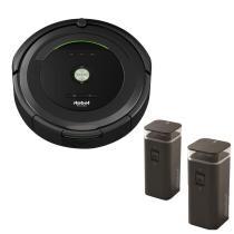 18% off iRobot Roomba 685 Robotic Vacuum w/ 2 Dual Mode Virtual Wall Barriers