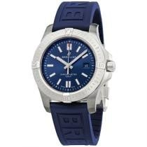 18% off Men's Chronomat Colt Rubber Blue Dial Watch