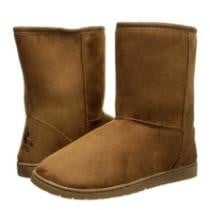"$18 Women's 9"" Faux Shearling Boots (8 Colors) + Free Shipping"