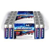 $19 ACDelco Super Alkaline AA Batteries 100-Count