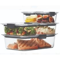 $19.98 Rubbermaid Brilliance Food Storage Containers 10-Piece Set