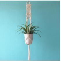 $19.99 Vintage Inspired Macrame Hanging Planter + Free Shipping