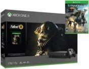 1TB Microsoft Xbox One X Console Bundle