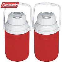 2 Pack of Coleman 1/3 Gallon Insulated Jug Coolers