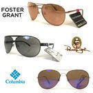 2 Pairs Name Brand Aviator Sunglasses