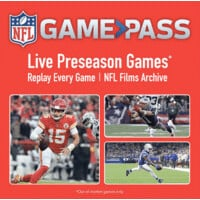 2 years of NFL Game Pass ($55 discount!) $119.99
