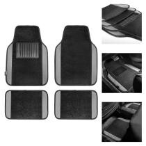 20% off 4Pc Universal Carpet Floor Mats w/ Free Gift in Gray + Free Shipping