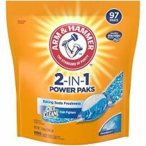 20% off 97-Count Arm & Hammer 2-In-1 Laundry Detergent Power Paks